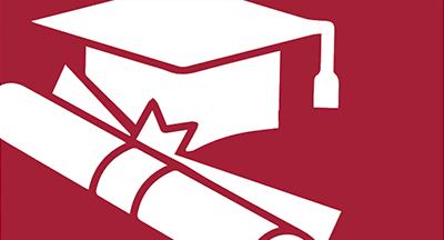 Steps to Graduate link