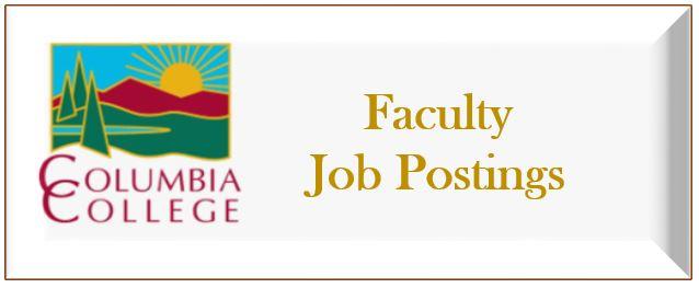 Faculty Job Postings