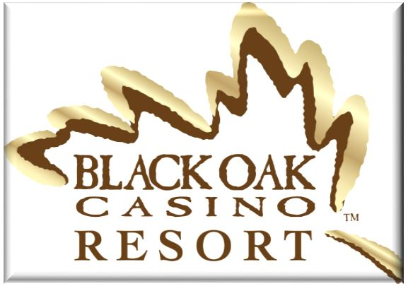 Black Oak Casino Resort logo