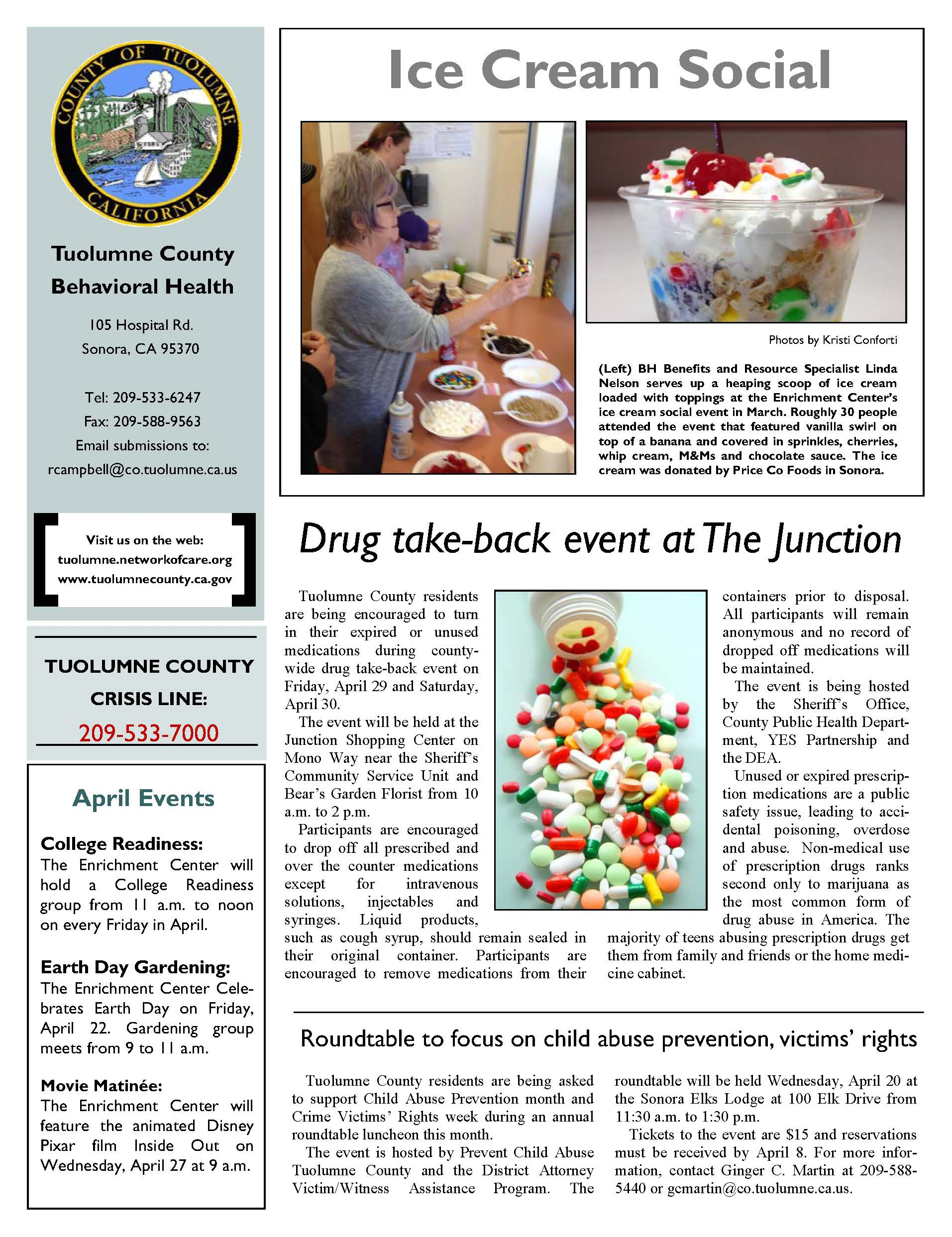 Beh Health April Newsletter Page 2