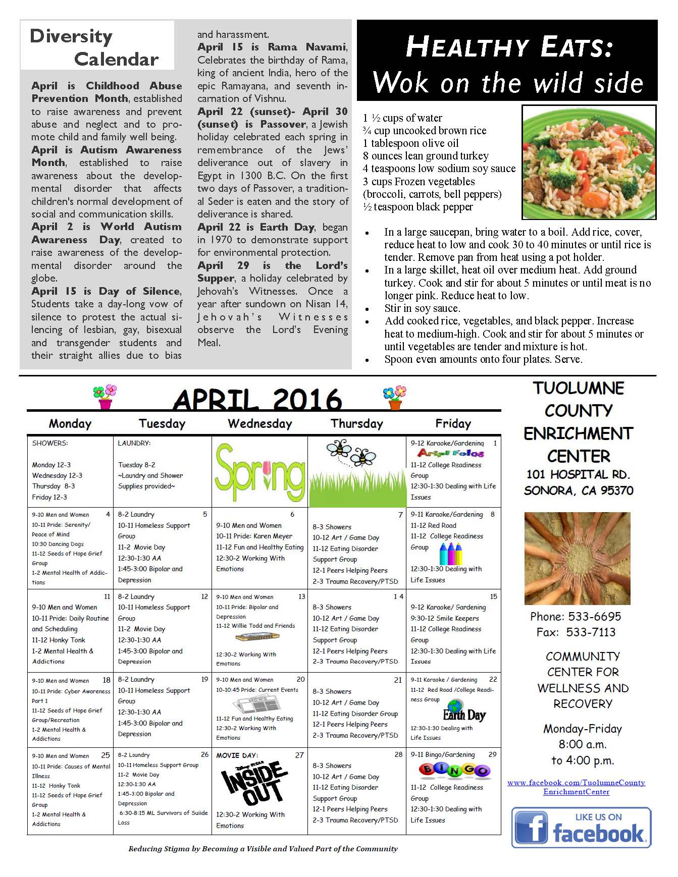 Beh Health April Newsletter Page 4