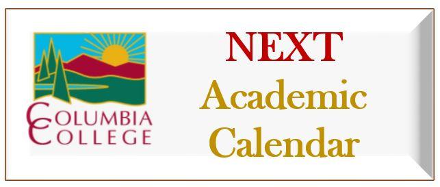Next Academic Calendar