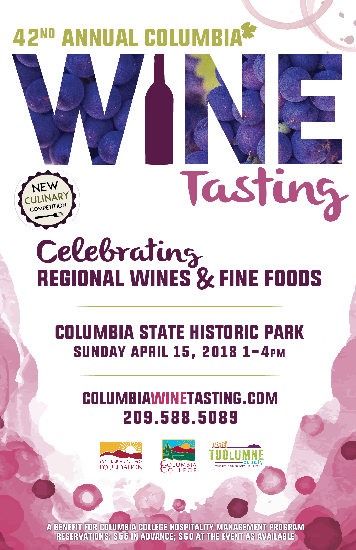 Columbia Wine Tasting 2018
