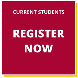 Current students register now button