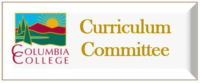 Curriculum Committee Link