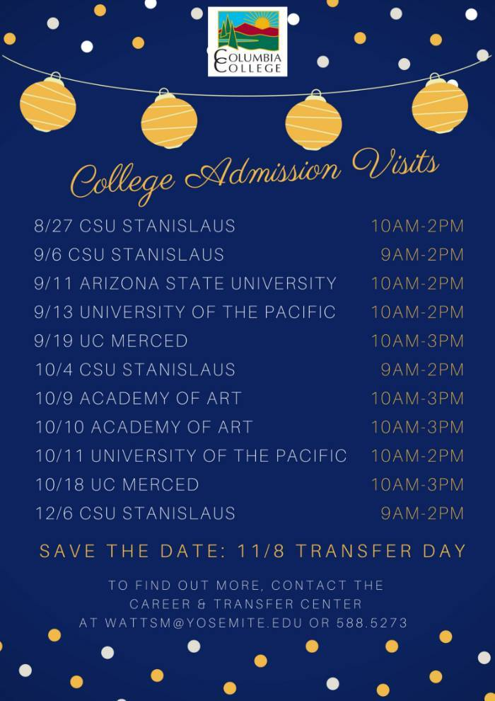 Columbia College College Transfer Resouces