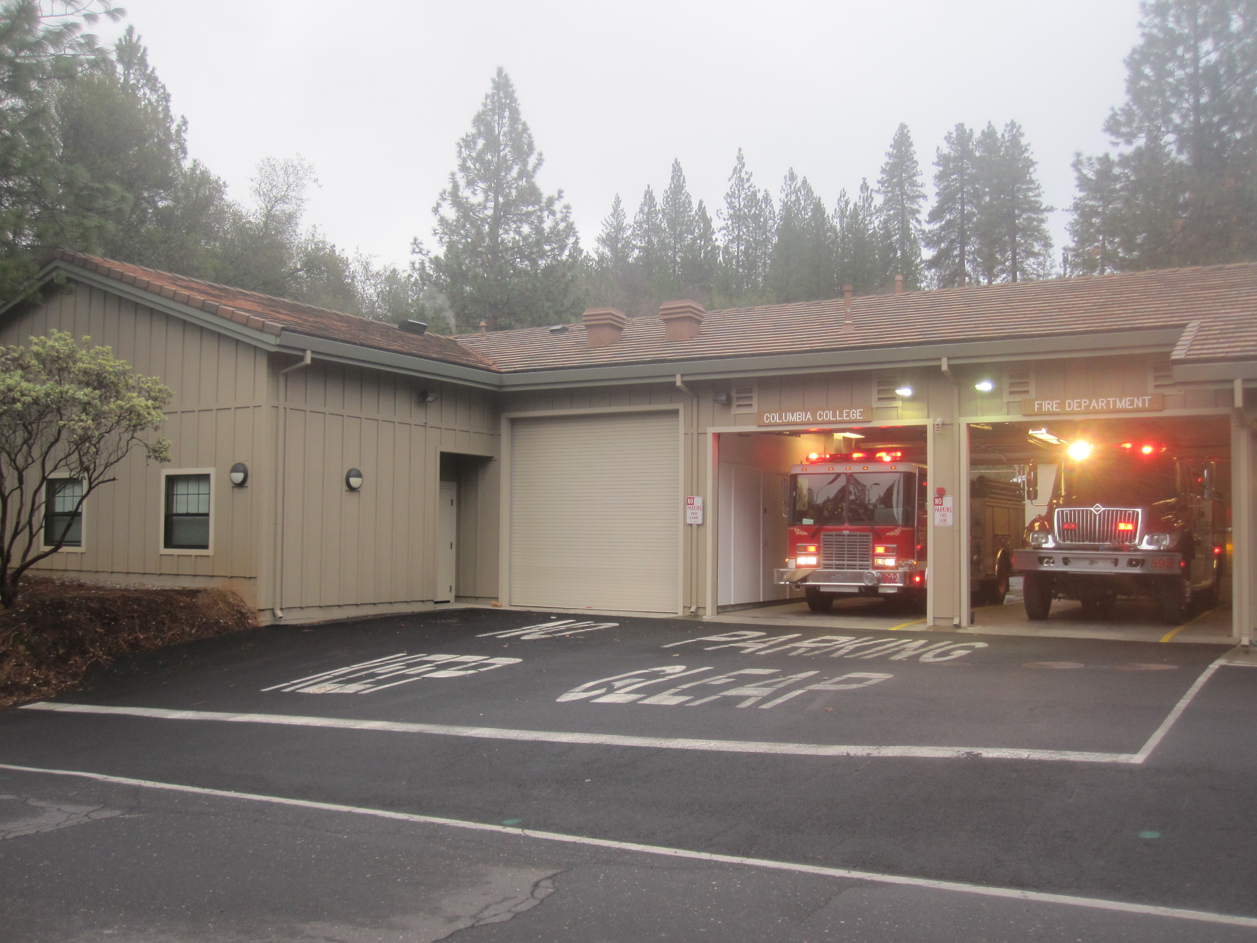 Photo of Columbia College Fire Department