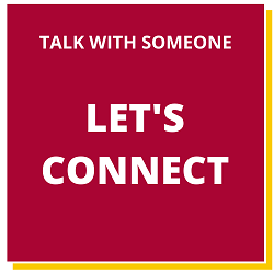 Talk with someone button