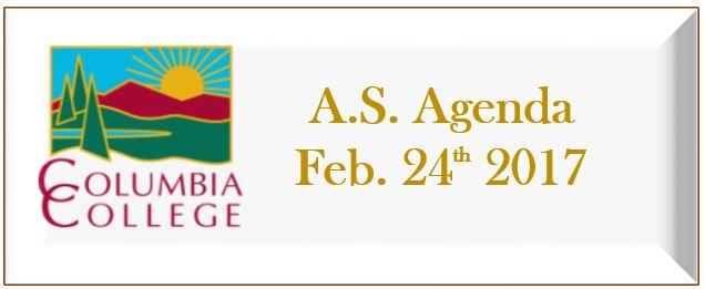Academic Senate 02/24/2017 Agenda link