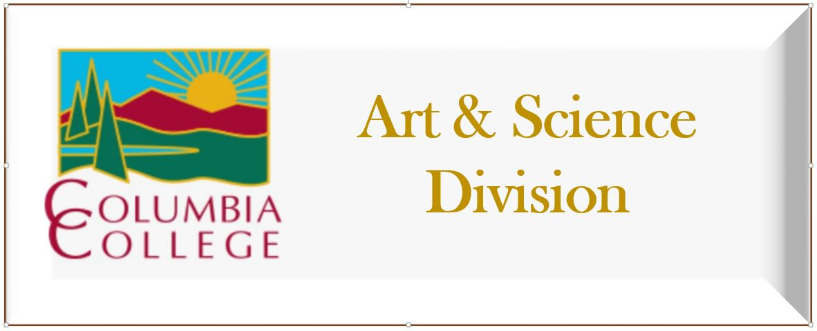 art and science div. button