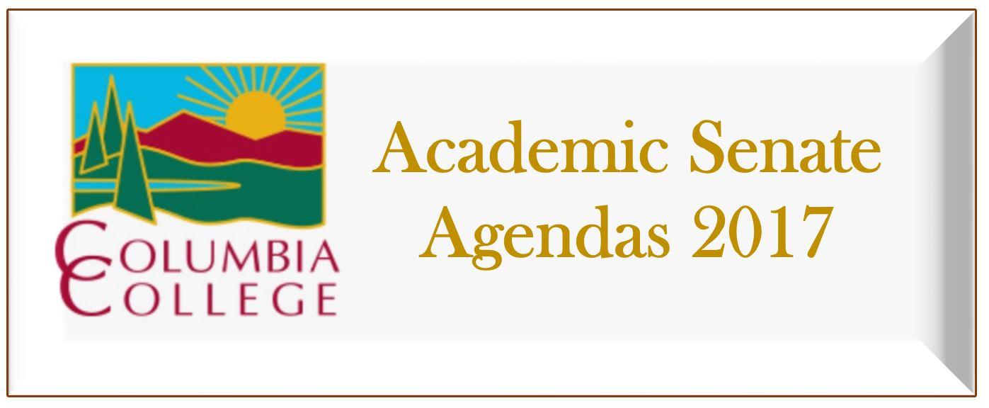 Academic Senate 2017