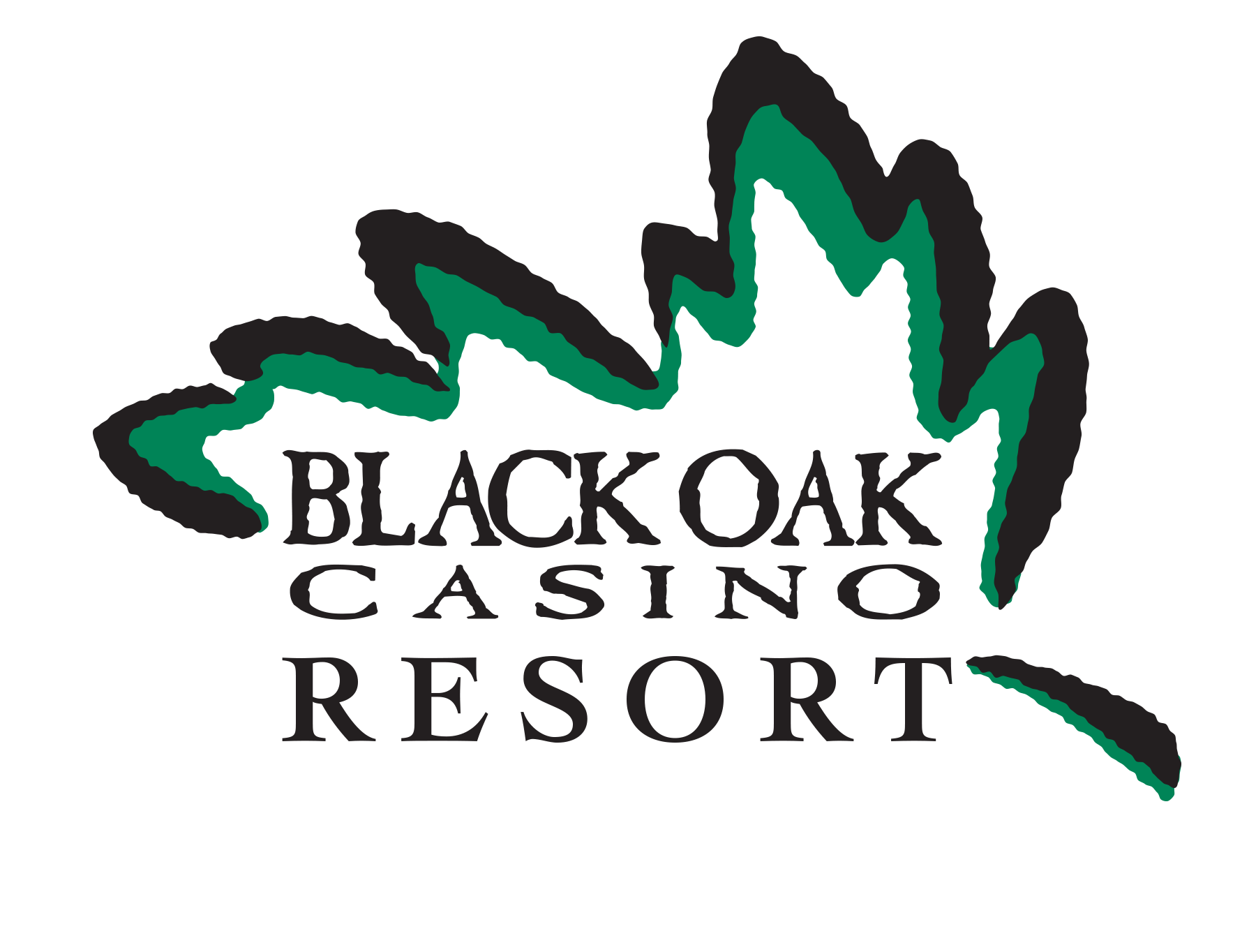 Black Oak Casino Logo