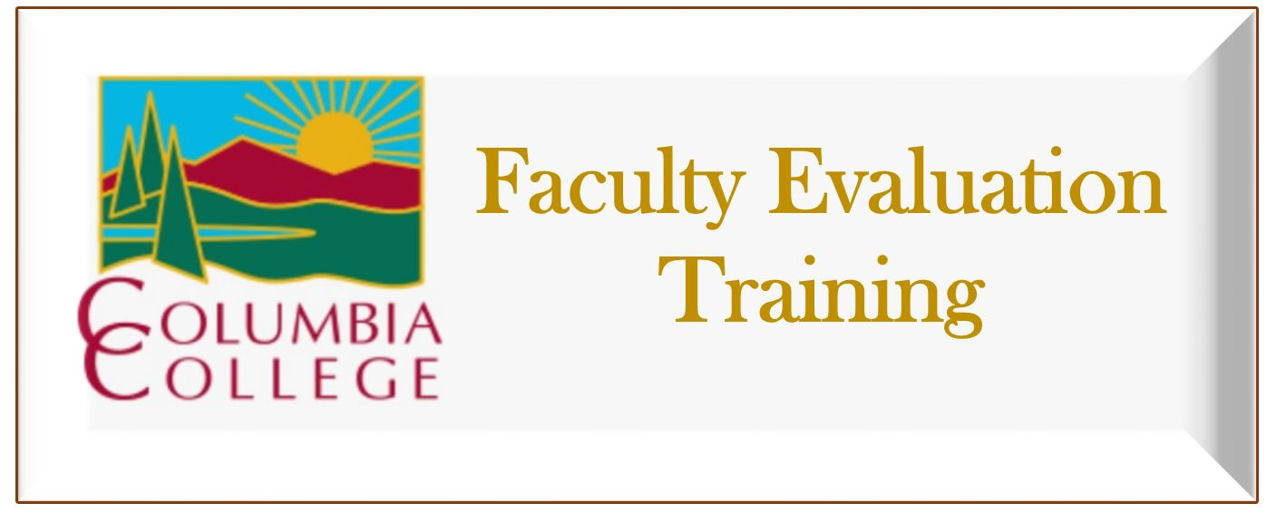 Faculty Evaluation Training Link